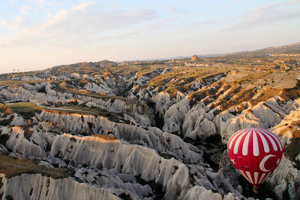 Hot air balloons are #1 tourist activity in Cappadocia
