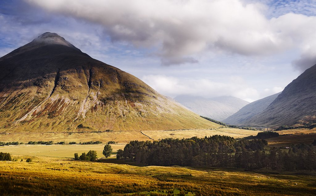 West Highland Way is the best introduction to Scottish Highlands