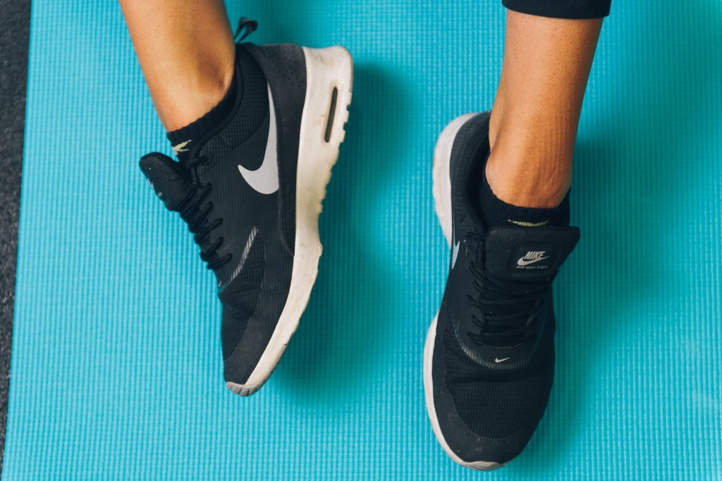 Get those sneakers ready for some pre-hike exercising.