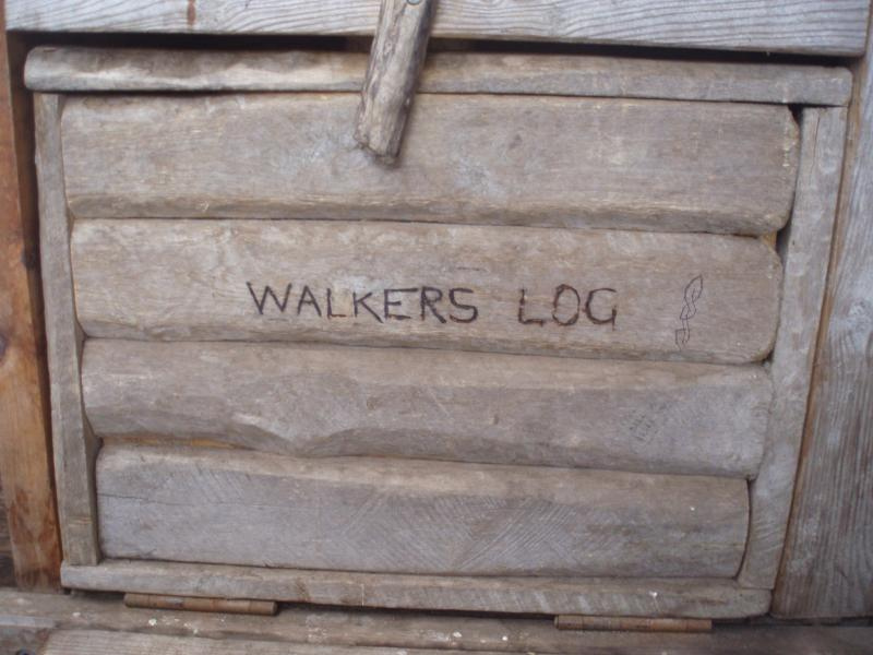The simplest way to leave mark is the walkers log box. But you should try more ways.