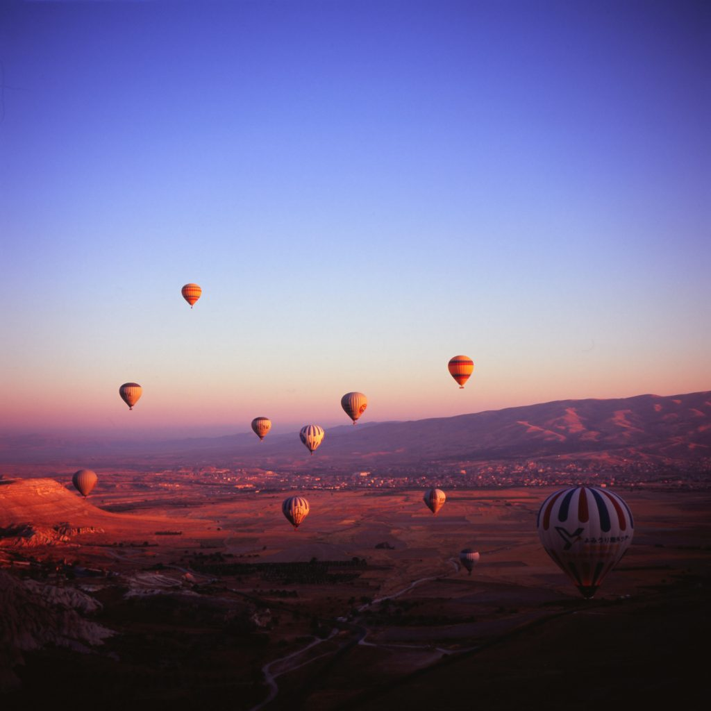 Try googling Cappadocia. Hot air balloons are one of the most popular things to do there. But is it a bad stereotype?