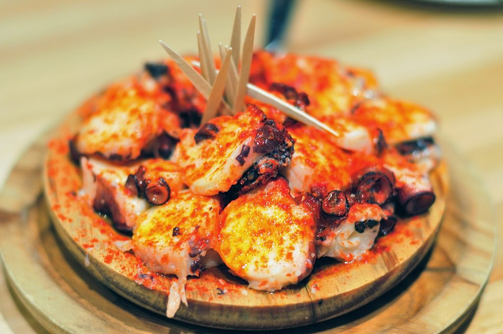 Doesn't matter what you think about octopuses, you must try pulpo a la gallega
