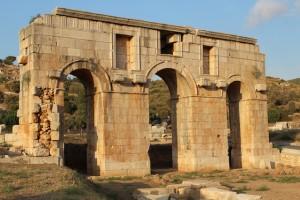 Lycian Way - Gate at the Patara Ruins