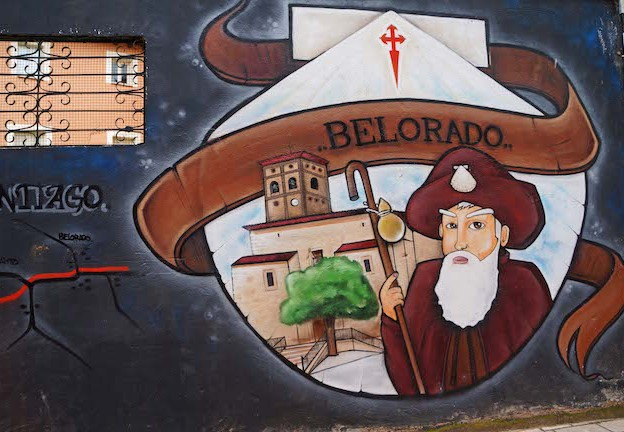 Camino Francés - Mural in Belorado