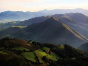 Camino Francés - Climbing to Orisson