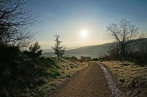 Camino Francés - Leaving Villafranca de Montes de Oca