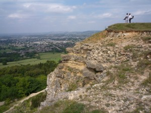 Leckhampton Hill on the Cotswold Way