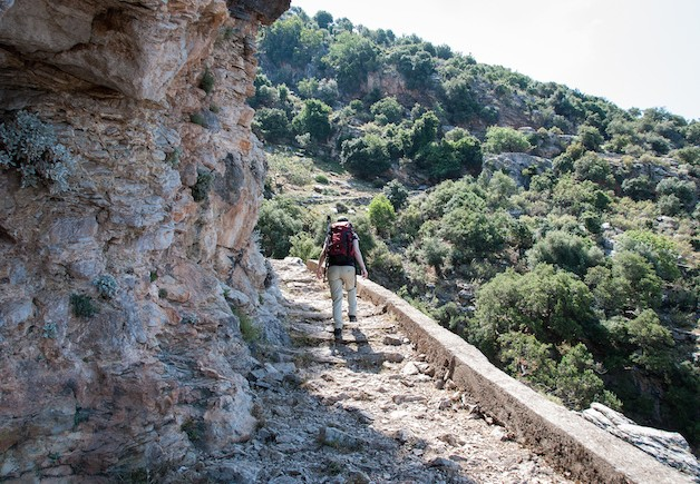 Lycian Way - Climbing towards Kirme