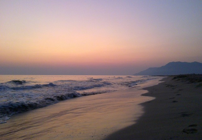 Lycian Way - Patara Beach
