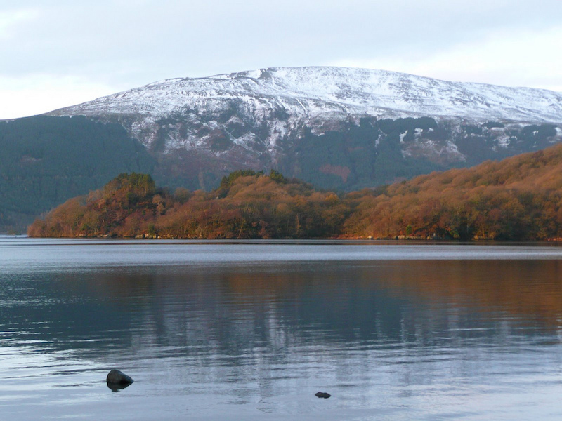 Late fall day on the West Highland Way