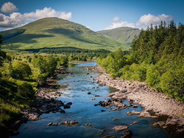 Near Bridge of Orchy
