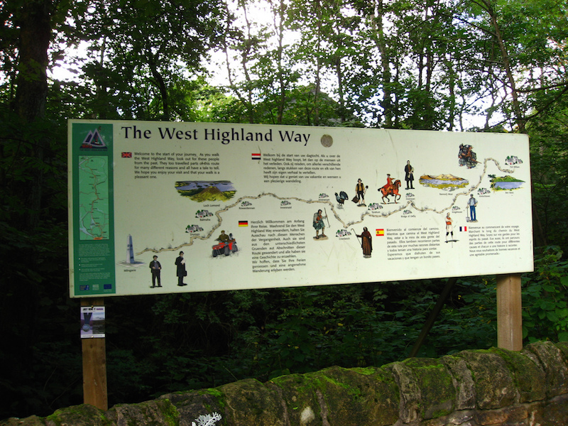 West highland Way Signboard
