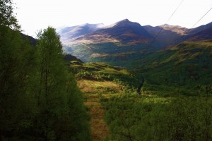 The descent into Kinlochleven