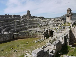 Amphitheater at Xanthos - Lycian Way