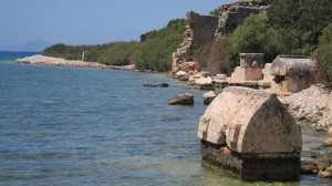 Lycian Way - Aperlai ruins