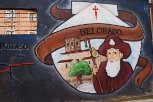 Camino Francés - Mural in Belorado