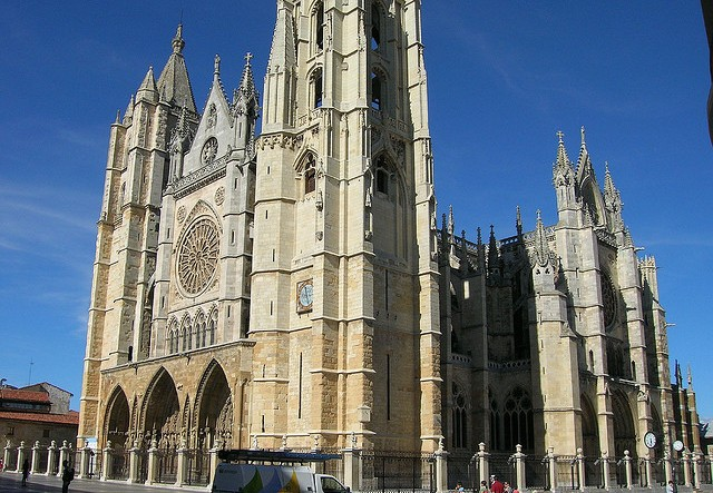 Camino Francés - Cathedral in León