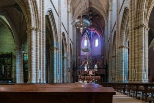 Camino Francés - Cathedral of Santa María la Real in Pamplona