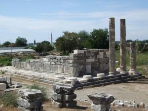 Lycian Way - Letoon ruins