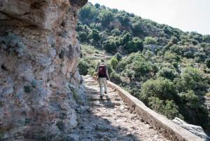 Lycian Way - Climbing towards Kirme